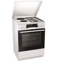 Снимка на Комбинирана готварска печка Gorenje K6351WF