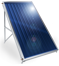 Picture of Слънчев колектор плосък, с алуминиев оребрен абсорбер, 2,5 кв. м