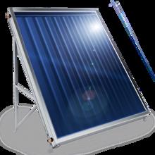 Picture of Слънчев колектор плосък, с алуминиев оребрен абсорбер, 1.5 кв.м