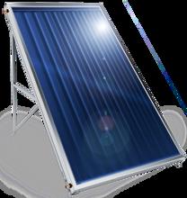 Picture of Слънчев колектор плосък Елдом, с алуминиев оребрен абсорбер, 2 кв. м