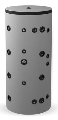 Снимка на Неемайлиран буферен съд 1000 л. с две черни и една неръждаема серпентина BCWS2 300K