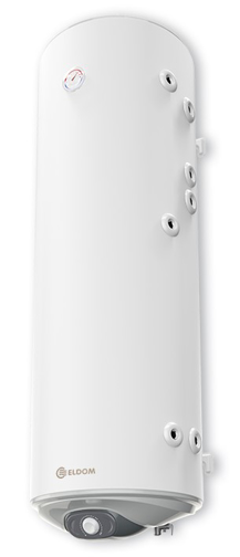Снимка на Бойлер Eldom 150 л. 3kW  вертикален, две десни серпентини, неръждаем WV15046IS2R