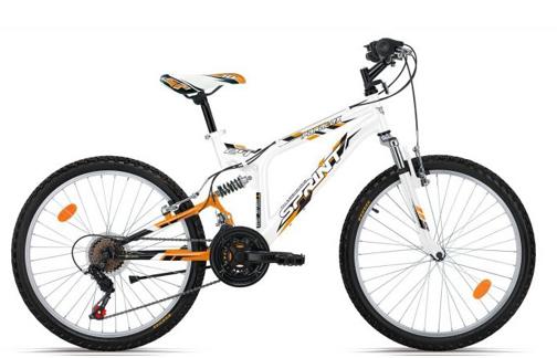 "Picture of Велосипед с предно и задно окачване Sprint PARALLAX ECO 24"" DD"