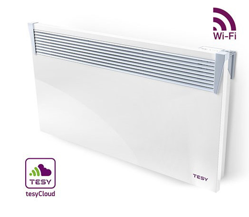 Picture of Конвектор HeatЕco Cloud (CN 03) с управление през Интернет Tesy CN03 250 EIS CLOUD W
