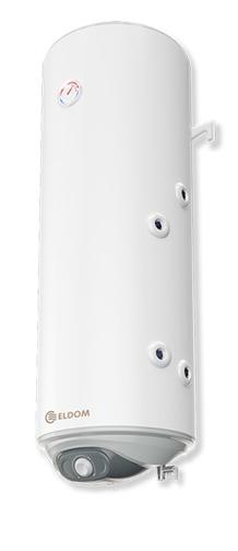 Picture of Бойлер Eldom 80л. 3 kW вертикален, долна дясна серпентина, емайлиран WV08039SR