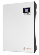 Снимка на Стенен конвектор с електронно управление Eldom Galant RH01W05E-W, 500 W