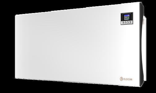 Picture of Стенен конвектор с електронно управление Eldom Galant RH01W25E-W, 2500 W