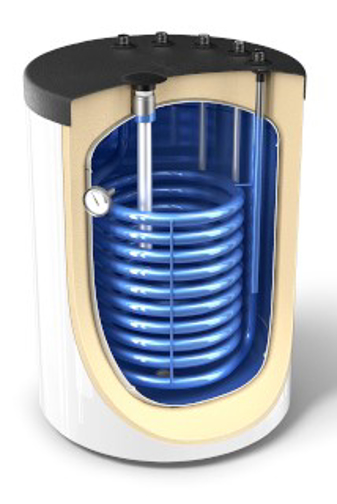 Снимка на Високообемни бойлери за подов монтаж за употреба с газов котел с топлообменник TESY  EV 15S 160 60 Z PS