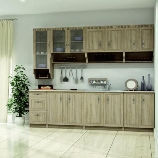 Снимка на Кухня Олек IV 260 см
