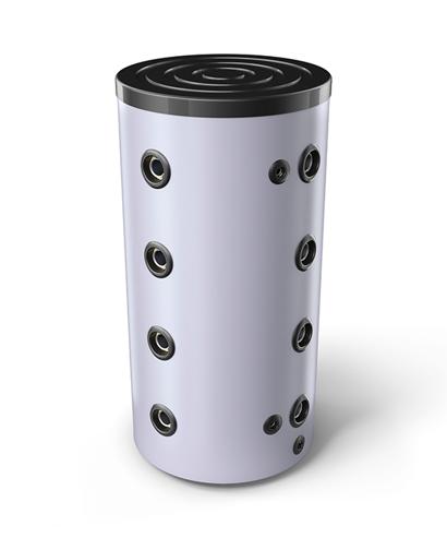 Снимка на Буферни съдове за активни охладителни инсталации без топлообменници за подов монтаж TESY V 200 60 ACF